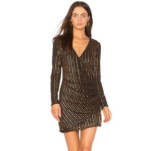 The Jetset Diaries Chryseis sequined dress NWT